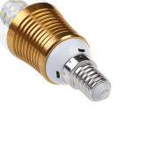 4W lámpara sin llama LED de la bombilla de la vela de la iluminación LED