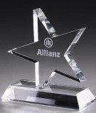 Regalos empresariales cristal K9 Pequeñas Estrellas concesión del trofeo