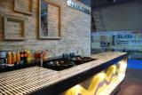 Dispersore di cucina nero assoluto della pietra del granito