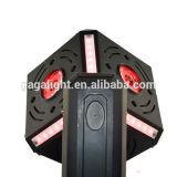 Alto Powe 6X12W RGBW 4 en 1 luz principal móvil de la bola del cubo del LED o luz del disco