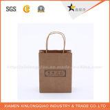 Sacchetto della carta kraft di Xiamen di prezzi di fabbrica di alta qualità
