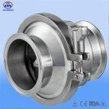 Válvula de verificação apertada sanitária do aço inoxidável (3A-No. RZ2104)