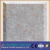 Matériau de construction Panneau mural en fibre de polyester plat en acier inoxydable