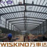 Construction préfabriquée préfabriquée de structure métallique de matériau de construction de ferme d'entrepôt