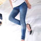 Ghette scarne del popolare dei jeans dello Spandex delle donne di alta qualità (SR8210)