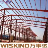 Diverso tipo edificio galvanizado de la estructura del marco de acero de Q345b/Q235B
