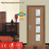 Grama Pattern Wooden Door com Optima Style