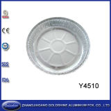 Популярные устранимые круглые подносы алюминиевой фольги для пиццы
