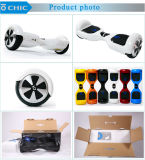 White ColorのシックなBluetooth APP 2 Wheel Self Balancing Scooter