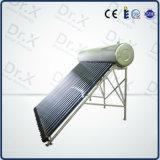 Calentador de agua termal solar a presión compacto del tubo de calor DIY