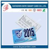 Cartão do código de barras do PVC VIP do preço de fábrica Cr80 de Seaory para Surpermarket