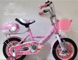 Vélo de gosses d'usine de bicyclette de la Chine seul/bicyclette rose de filles avec la portée de transporteur