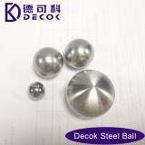 bola aplicada con brocha Ss304 al aire libre de la depresión del acero inoxidable de la decoración