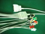 Câble du clip 10 EKG/ECG du CEI de Mortara 15pin