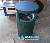 2015 cubos de basura al aire libre del metal atractivo más nuevo/bote de basura con el precio bajo (FY-119D)