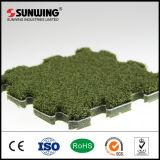 Sunwing 최신 판매 정원 맞물리는 마루 인공적인 잔디 잔디밭