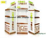 Venta caliente con el soporte de visualización más barato de suelo de la cartulina del precio con SGS (B&C-A091)