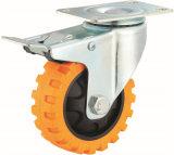 La roue lourde Tyer de chasse d'émerillon d'unité centrale de 4/5/6/8 pouce veine la chasse industrielle