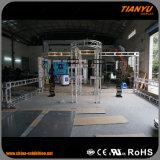 Cabina de aluminio de la exposición del braguero