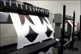 1,9 m 66GSM 656FT Papel de sublimação anti-curl rápido e rápido para impressoras a jato de tinta digital Roland / Mutoh / Mimaki