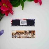Magnete del frigorifero della città del ricordo del metallo stampato documento su ordinazione del fornitore di Foshan