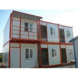Casa modular prefabricada del envase con diverso diseño