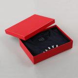 Caja de embalaje de papel roja del nuevo inventario del proyecto (QY150082)