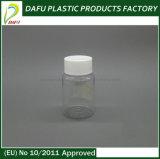 botella plástica de la medicina del claro del animal doméstico 80ml
