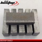 O segmento do diamante para o granito/mármore/Sandstone/basalto/concreto considerou a estaca da lâmina