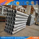 Durchmesser-Aluminium-Gefäß des Fabrik-Zubehör-Aluminium-6061 überzogenes großer des Puder-T6