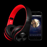 Fone de ouvido estereofónico sem fio de Bluetooth do telefone do cartão, fone de ouvido de Bluetooth da música