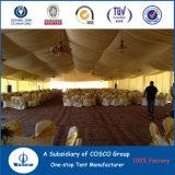 Partei-Zelt mit Dekoration