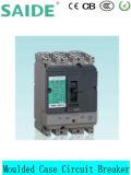 Corta-circuito moldeado poste Ns Nsx MCCB del caso de DC/AC 80A-1600A 3 poste 4
