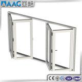 Piegatura di alluminio di vetro/portello Bifold/portello di Bifolding