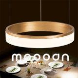 Свет кольца круга СИД привесной Selfie самомоднейшего роскошного золота алюминиевый для живущий комнаты