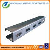 Прорезанный Electro гальванизирует тип канала сталь c