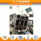 Profil en aluminium de anodisation lumineux de couvre-tapis pour le guichet