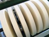 Eiscreme-Papiercup, das Rückspulenmaschine aufschlitzt
