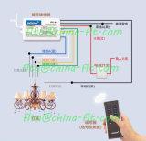 RF sin hilos teledirigido para el control ligero del LED y el otro control de iluminación