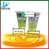 De gebruikte Installatie van het Recycling van de Olie voor Verkoop (zwarte olieverversing aan gele oliemachine)