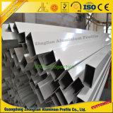 Ángulo de aluminio del aluminio de la sección del OEM Horizonal
