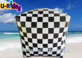 Bóia inflável da água de Urides na forma do cubo