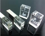 Speicher-Stock-Blitz-Feder-Laufwerk LED-helles Kristall USB-2.0