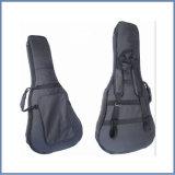 люкс проложенный акустический 1680d и классический мешок двуколки гитары, мешок Ukulele, черный