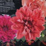 Blumen-Papier deckte aufbereitetes Papiernotizbuch ab