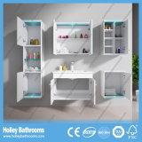 Stanza da bagno splendida High-Gloss Cabinet-D8066A della vernice del LED dell'interruttore caldo di tocco chiaro