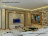 Ligne UV de PVC de marbre, panneau décoratif UV de PVC de marbre, feuille décorative UV de PVC de marbre