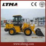 Chinese Zl20 MiniLader de Lader van het Wiel van 2 Ton