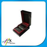 Kundenspezifischer hergestellter feste hölzerne Uhr-Geschenk-Verpackungs-faltender Ablagekasten