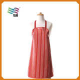 Hot Sale Printed Disposable PE Cooking Kitchen Apron (HYap 001)